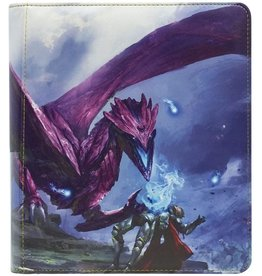 Arcane Tinmen Dragon Shield Card Codex Zipster Binder SM Purple