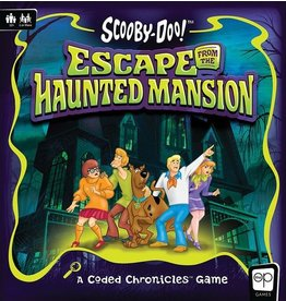 USAopoly Scooby Doo Escape from the Haunted Mansion