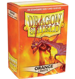 Arcane Tinmen Dragon Shield: Matte Orange (100)