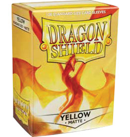 Arcane Tinmen Dragon Shield: Matte YELLOW (100)