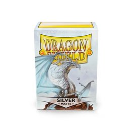 Arcane Tinmen Dragon Shield: SILVER Matte (100)