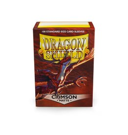 Arcane Tinmen Dragon Shield: Matte Crimson (100)