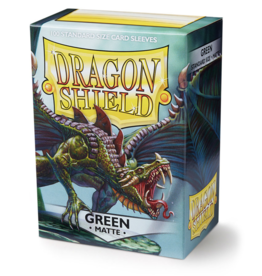 Arcane Tinmen Dragon Shield: Matte Green (100)