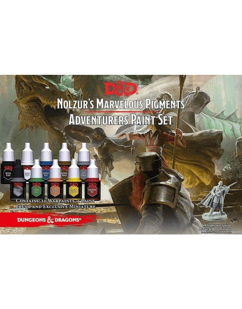 Army Painter Adventurer's Paint Set D&D Nolzur's Marvelous Pigments