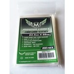 Mayday Games Card Sleeves 63.5 x 88mm Green Label 100ct