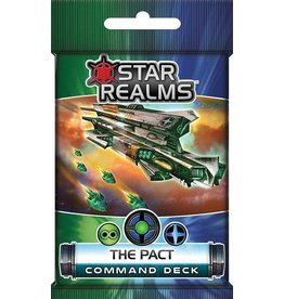 White Wizard Games Star Realms The Pact Command Deck
