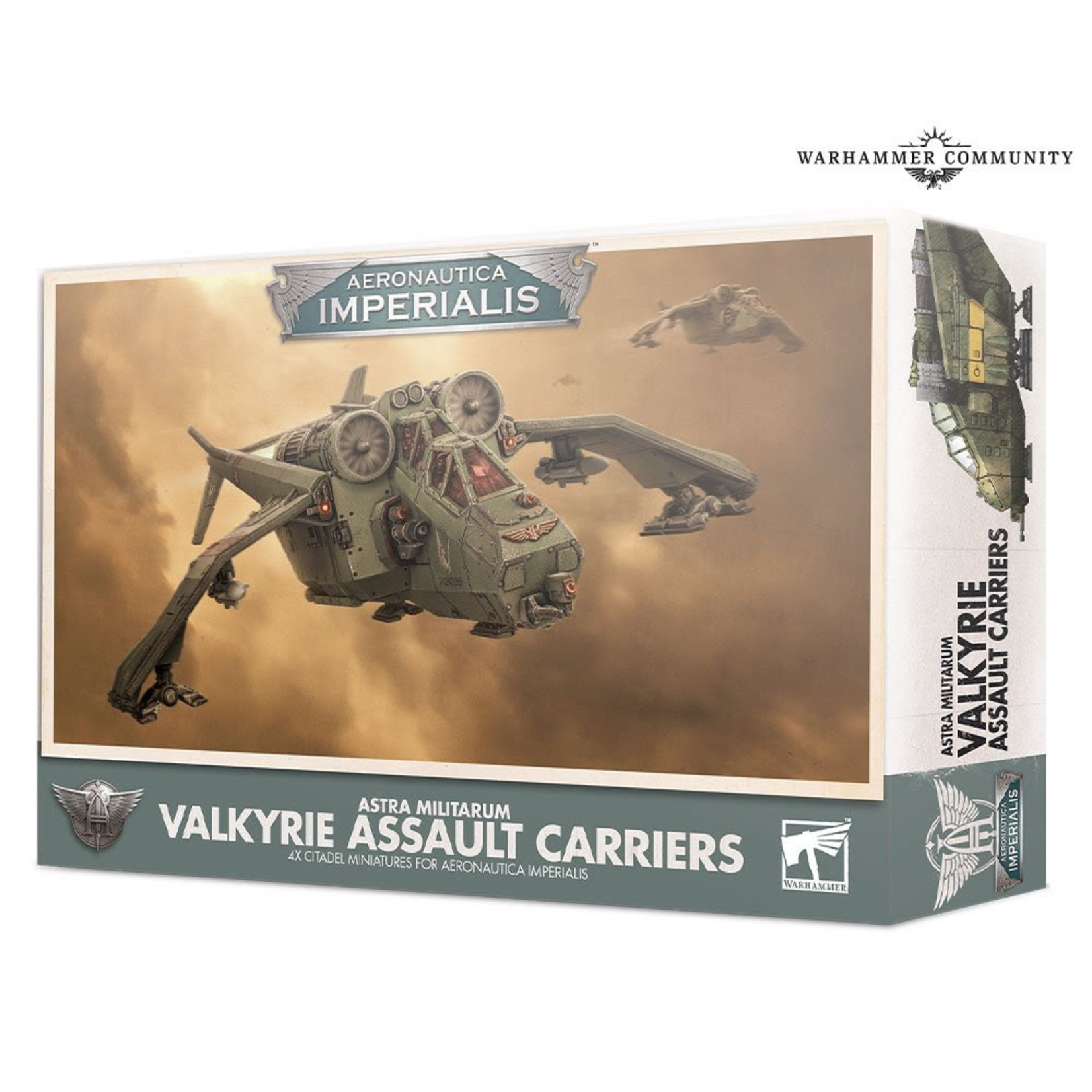 Games Workshop Aeronautica Imperialis Valkyrie Assault Carriers