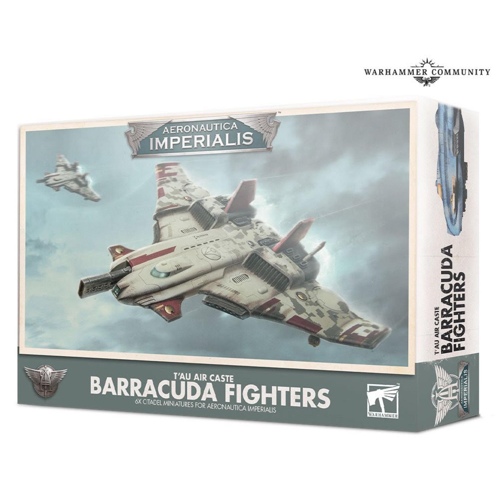 Games Workshop Aeronautica Imperialis T'AU Air Caste Barracuda Fighters