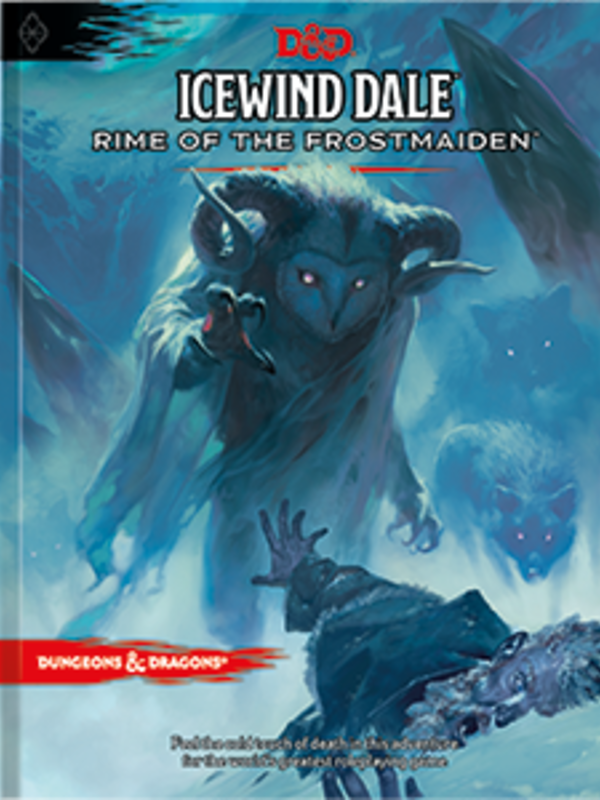 WOTC D&D D&D RPG Icewind Dale: Rime of the Frostmaiden