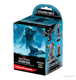 WIZKIDS/NECA D&D IotR Icewind Dale Rime of the Frostmaiden Booster