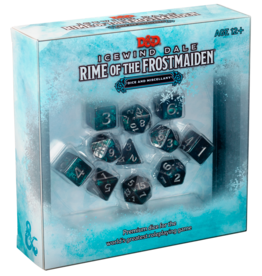 WOTC D&D D&D RPG Rime of the Frostmaiden Dice