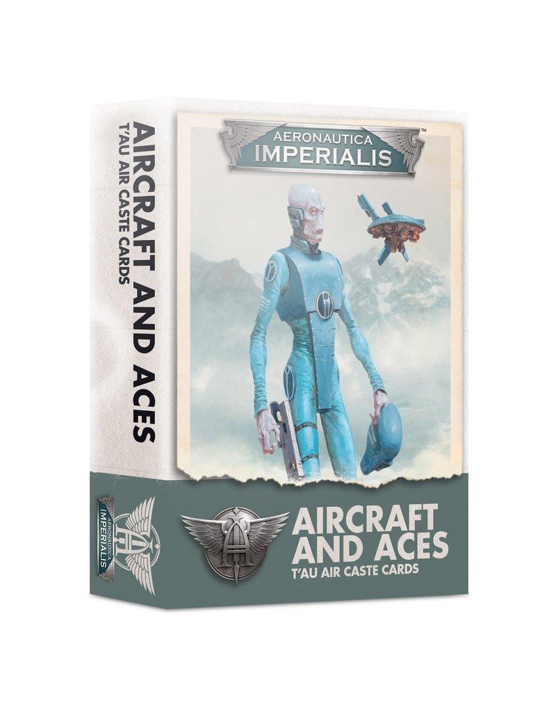 Games Workshop Aeronautica Imperialis T'AU Air Caste Cards