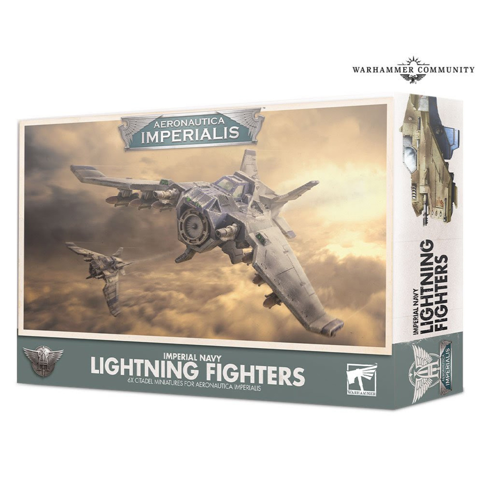 Games Workshop Aeronautica Imperialis Navy Lightning Fighters
