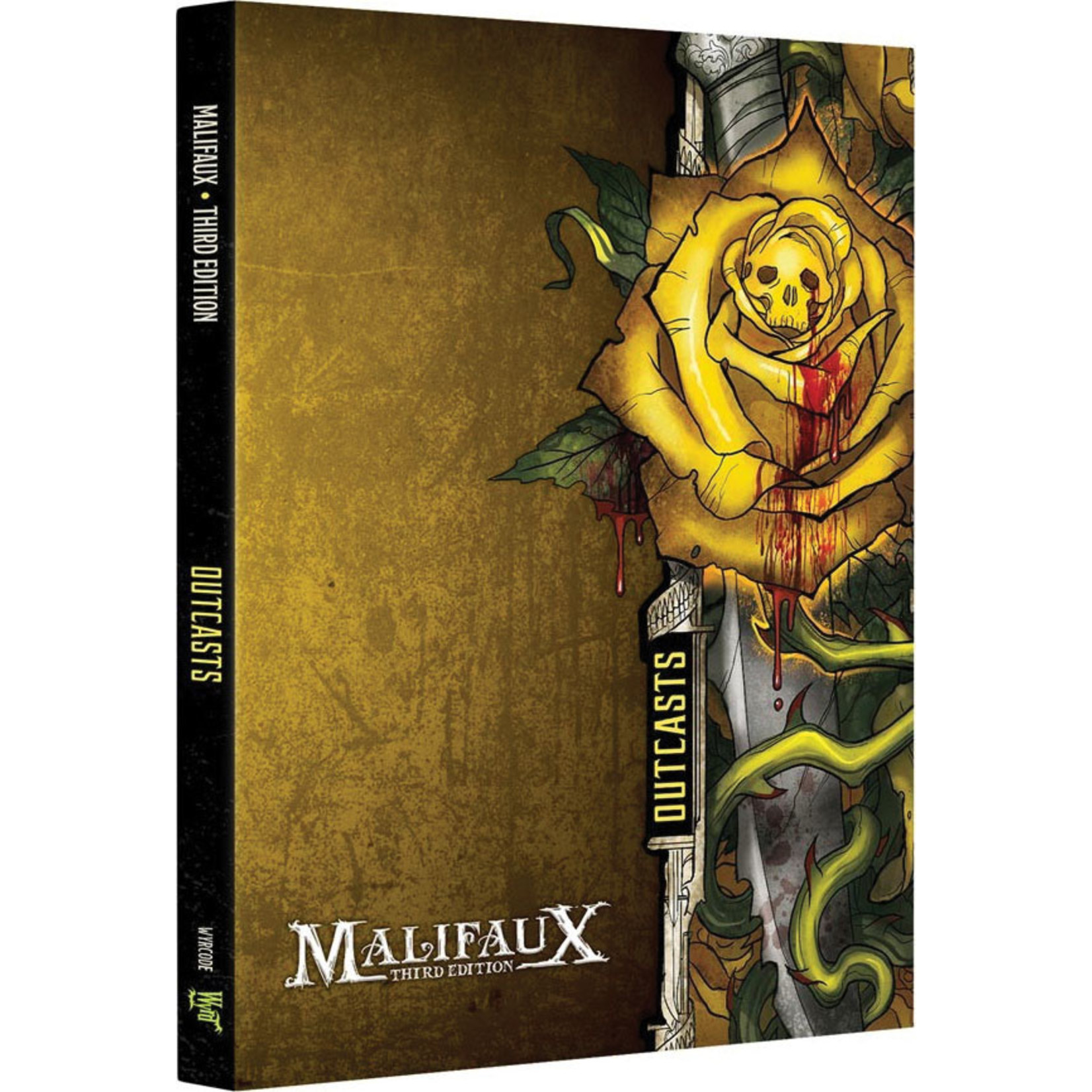 Wyrd Miniatures Malifaux 3E Edition: Outcasts Faction Book