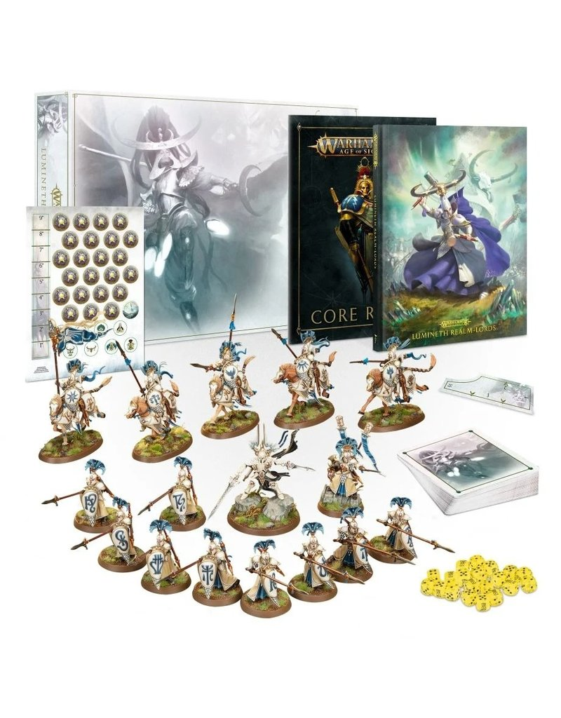 Games Workshop WH AoS Lumineth Realm-lords Army Set