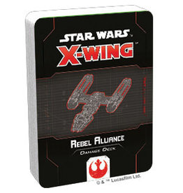 Fantasy Flight Games Rebel Alliance Damage Deck SW X-Wing: 2E