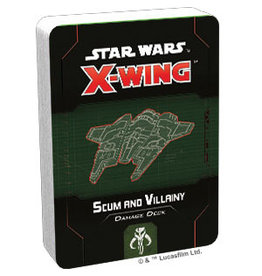 Fantasy Flight Games Scum and Villainy Damage Deck SW X-Wing: 2E