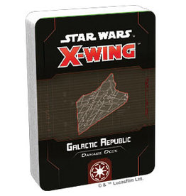 Fantasy Flight Games Galactic Republic Damage Deck SW X-Wing: 2E