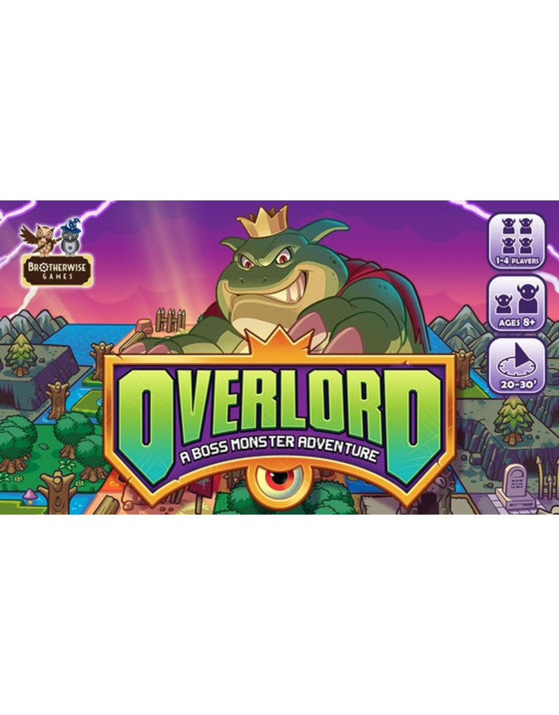 Brotherwise Games Overlord A Boss Monster Adventure KS