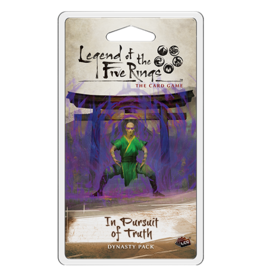Fantasy Flight Games L5R LCG In Pursuit of Truth Dynasty Pack