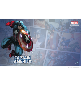 Fantasy Flight Games Marvel Captain America Game Mat