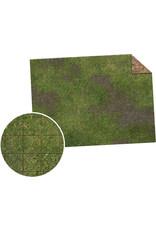 "Monster Fight Club Monster Game Mat 22""x30"" Broken Grassland Desert Scrubland Grig"