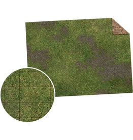 "Monster Fight Club Monster Game Mat 22""x30"" Broken Grassland Desert Scrubland Grig"