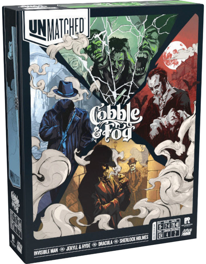 Mondo Games Unmatched: Cobble and Fog