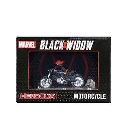 WIZKIDS/NECA Marvel HeroClix Black Widow Motorcycle