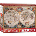 EuroGraphics Antique World Map 2000pc