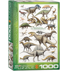 EuroGraphics Dinosaurs of the Cretaceous Period 1000pc