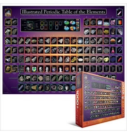 EuroGraphics Illustrated Periodic Table of the Elements 1000pc