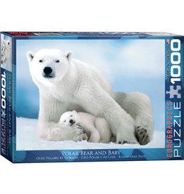 EuroGraphics Polar Bear & Baby 1000pc