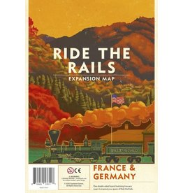Capstone Games Ride the Rails France & Germany Map