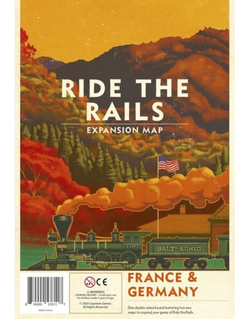 Capstone Games Ride the Rails: France & Germany