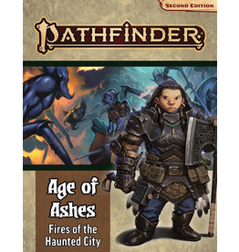 Paizo Age of Ashes Part 4 - Fires of the Haunted City 2E RPG