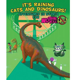 Monte Cook Games It's Raining Cats and Dinosaurs No Thank You, Evil RPG
