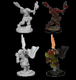 WIZKIDS/NECA D&DNMUM Dragonborn Female Fighter W4