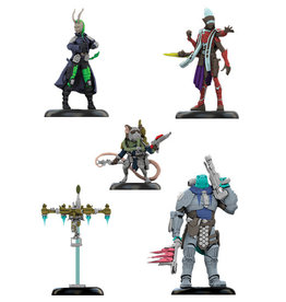 Ninja Division Games Starfinder Iconic Heroes Set 2