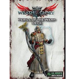 ULISSES-SPIELE Perils of the Warp Deck W40K Wrath & Glory RPG