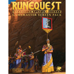 Chaosium RuneQuest RPG Gamemaster Screen Pack