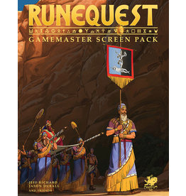 Chaosium RuneQuest RPG Gamemaster Screen Pack