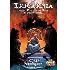 Pinnacle Entertainment Group Tricarnia Savage Worlds RPG