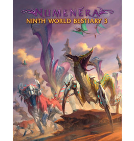 Monte Cook Games Ninth World Bestiary 3 Numenera RPG