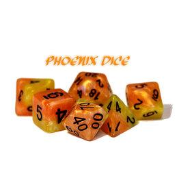 Gate Keeper Games Halfsies Phoenix d7 set Dice