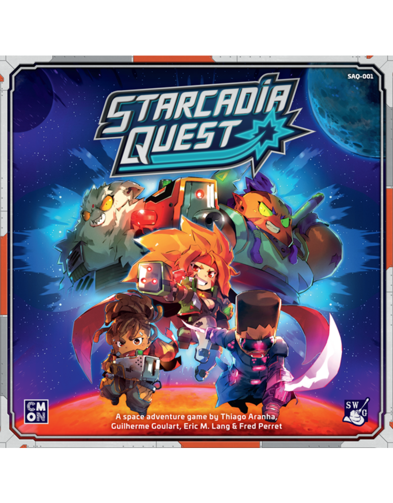 CMON Starcadia Quest Space Marauders