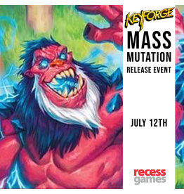 Recess KeyForge - Mass Mutation Release Event