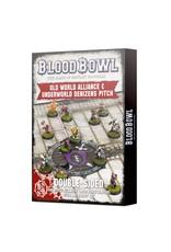 Games Workshop Blood Bowl World Underworld Pitch