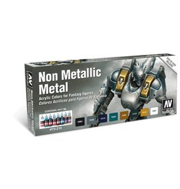 Acrylicos Vallejo VMC Set Non-Metallic Metal (8)