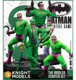Knight Models The Riddler Starter Set: Batman Minature Game